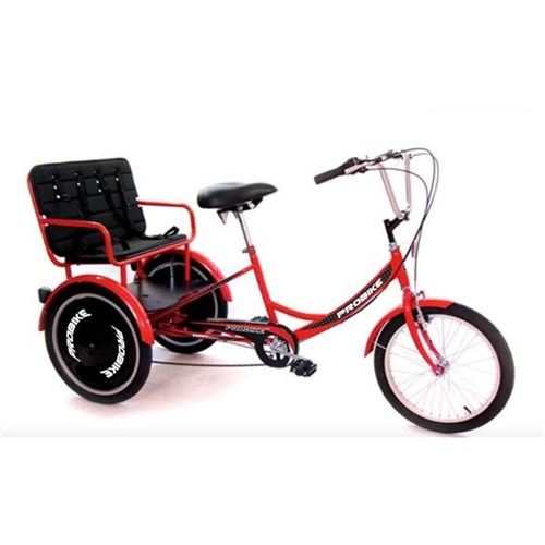 PROBIKE TRIKE T-800 KIDS CARRIER RED