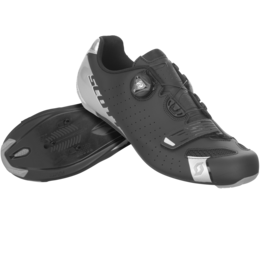SCOTT ROAD COMP BOA® SHOE Matt black/silver