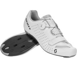 SCOTT ROAD COMP BOA® SHOE White/black