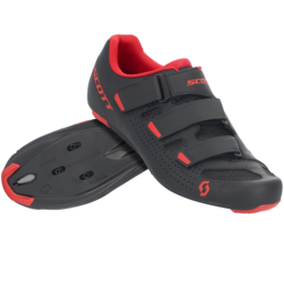 SCOTT ROAD COMP SHOE Black/red