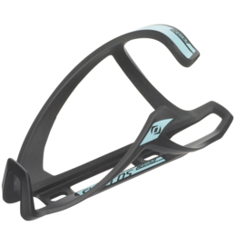 SYNCROS TAILOR CAGE 1.0 RIGHT BOTTLE CAGE Black/teal blue