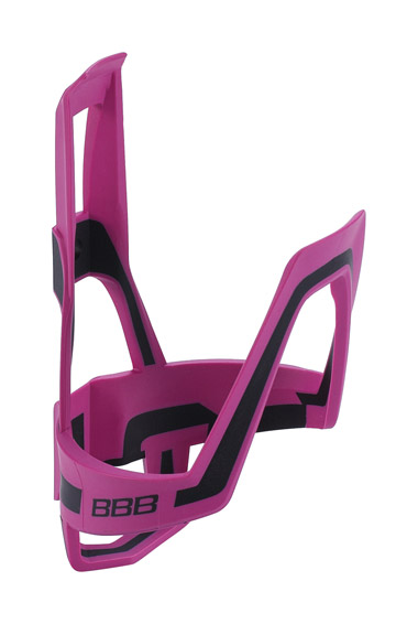 bbb-bbc-39---dualcage-bottle-cage-magenta-and-black