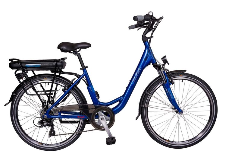 Pulse ZL2 Blue 44x26 Electric Bike 11ah battery