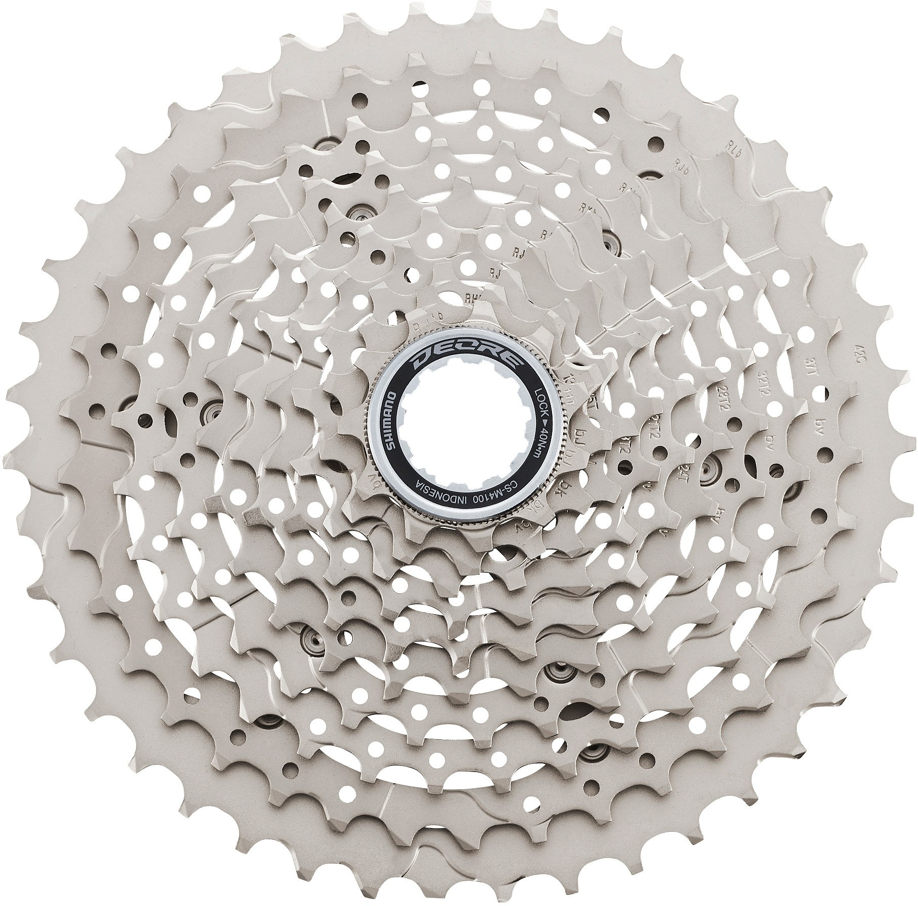 CS-M4100 Deore 10-speed cassette, 11-42T