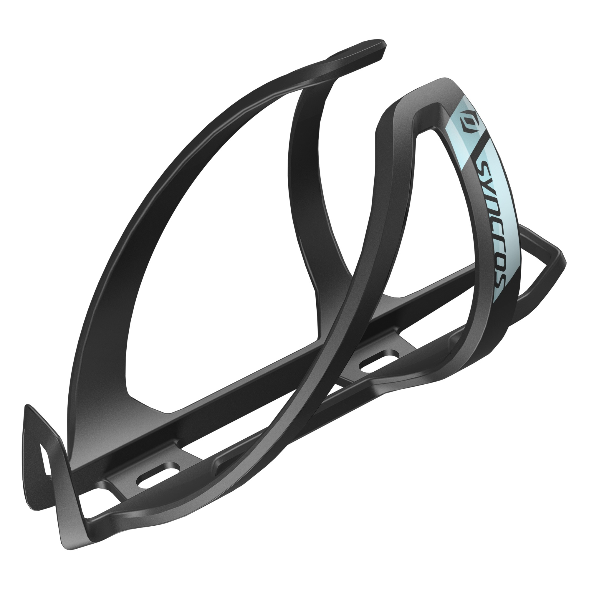 SYNCROS COUPE CAGE 2.0 BOTTLE CAGE Black / surf spray blue
