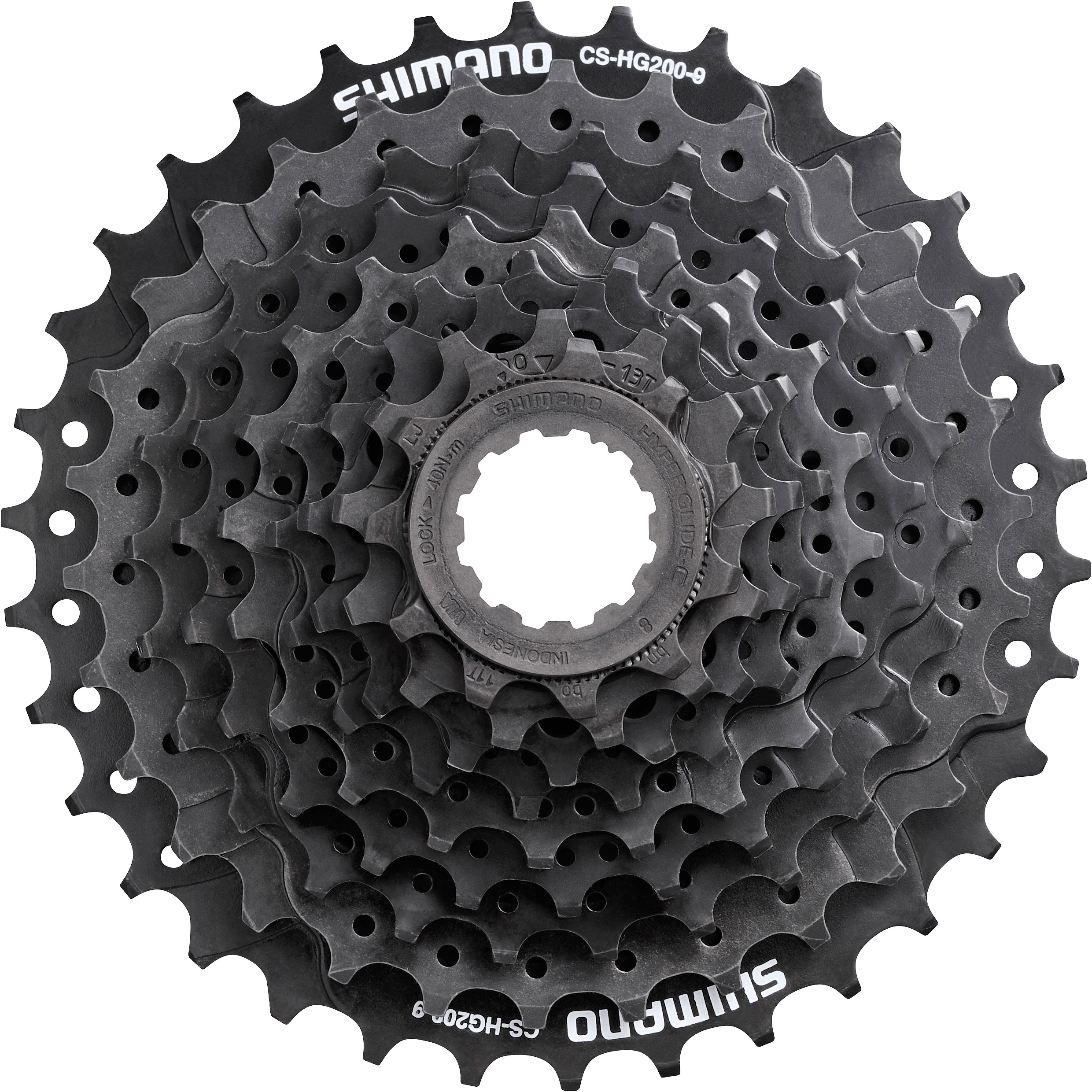 CS-HG201 9-speed cassette 11-34