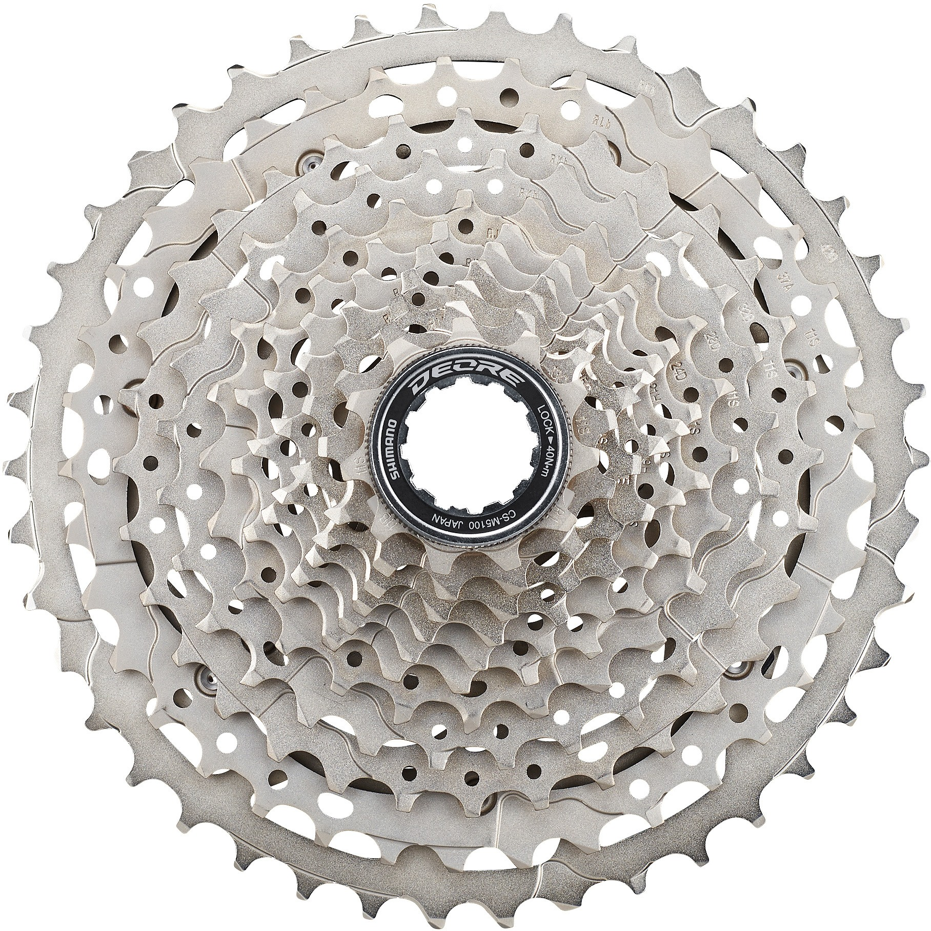 CS-M5100 Deore 11-speed cassette, 11-42T