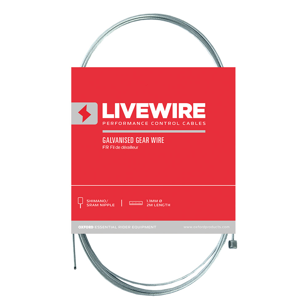 Livewire Tandem stainless steel gear cable
