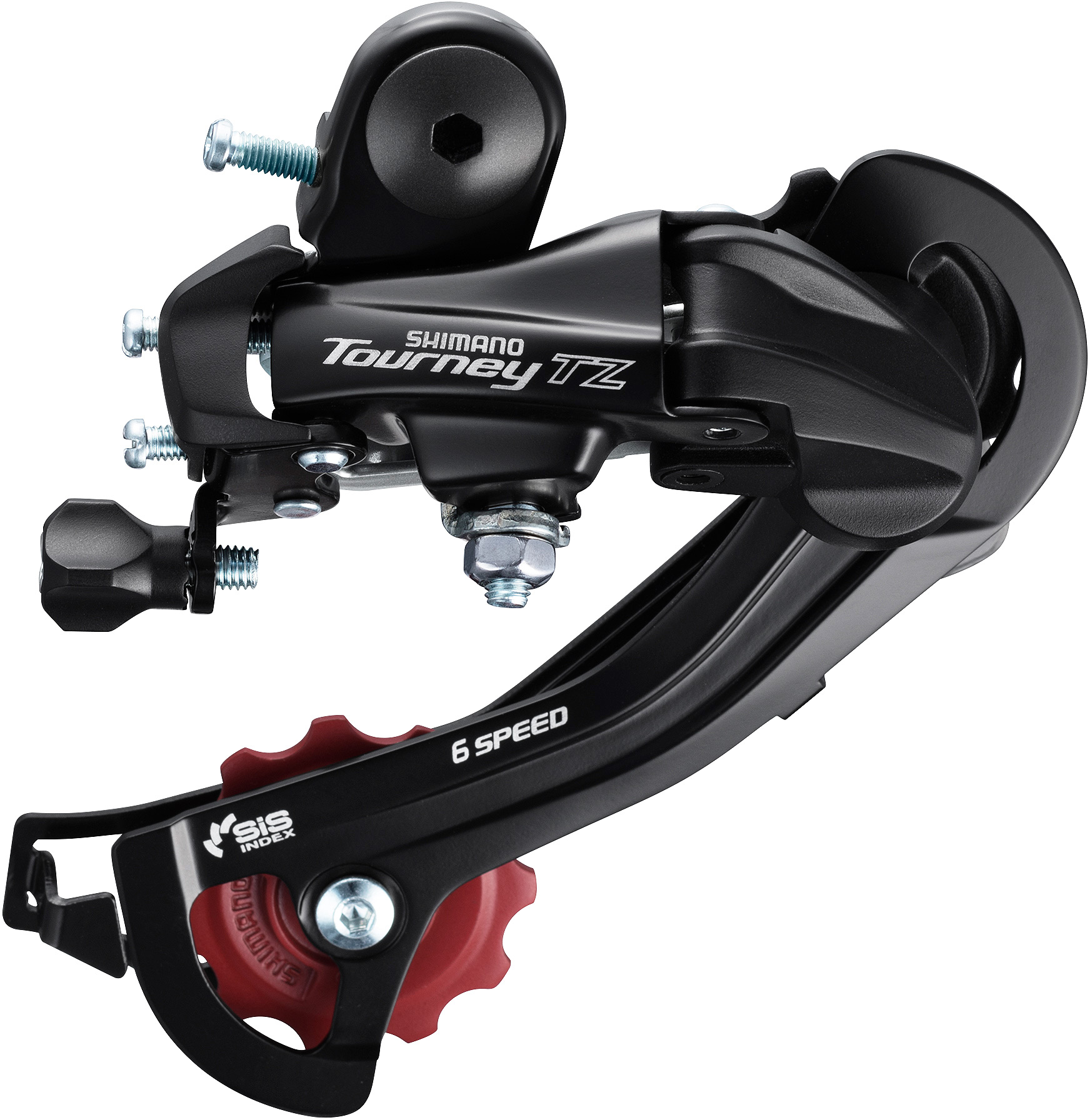 6-Speed Rear Derailleur With Mounting Bracket