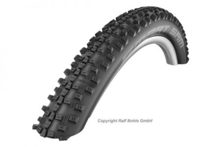 SCHWALBE 28 X 1.65 (44-622) SMART SAM WIRED TYRE – BLACK