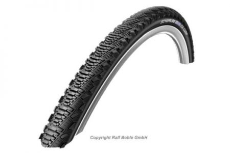 SCHWALBE 700 x 30c (30-622) CX Pro Wired PL Tyre - Black