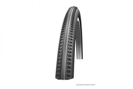 SCHWALBE 20 X 1 3/8 (37-438) HS110 WIRED AL TYRE – BLACK