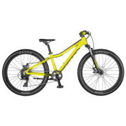 SCOTT SCALE 24 DISC YELLOW BIKE