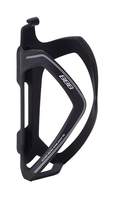 BBC-36 - FLEXCAGE BOTTLE CAGE (MATTE BLACK, BLACK DECAL)