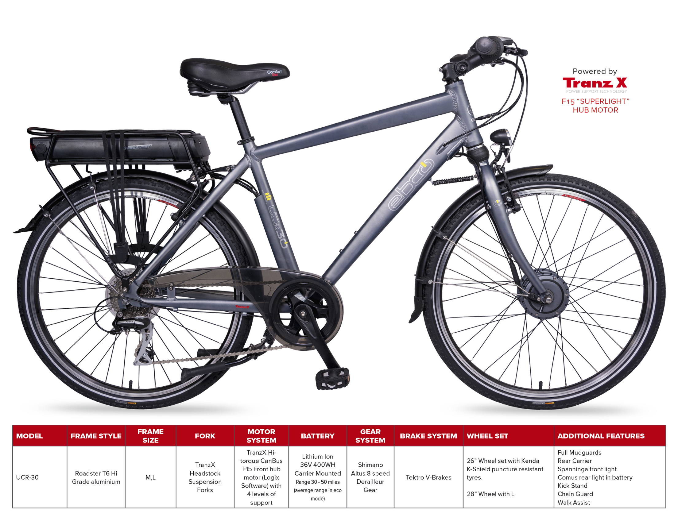EBCO UCR30 Electric Bike