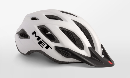 Met Crossover Helmet Medium White