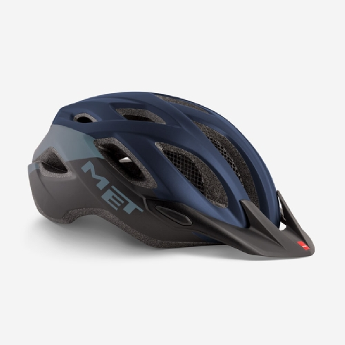 Met Crossover Helmet Medium Blue, Black