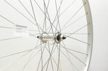 700C FRONT WHEEL – S/S – SILVER HYBRID